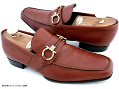 Ferragamo Giostra Drivers Men Shoes Black